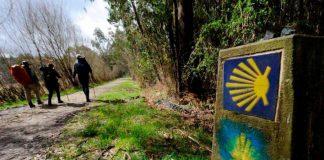 Un grupo de peregrinos valencianos, el último brote del Camino