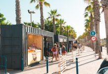 València estrena un nuevo mercado al aire libre pensado para las familias