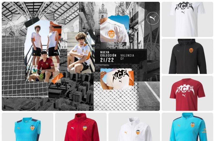 nuevas camisetas del Valencia CF 2021-2022