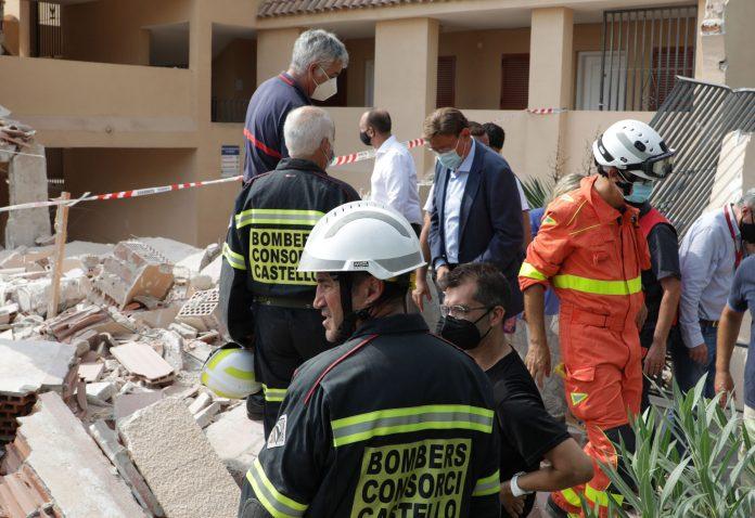 La Generalitat realojará a los afectados por el derrumbe en Peñíscola