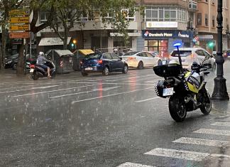 Una gota fría amenaza las Fallas de Valencia