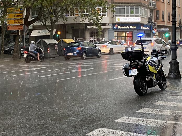 Aemet alerta de lluvias para el puente del Pilar en Valencia
