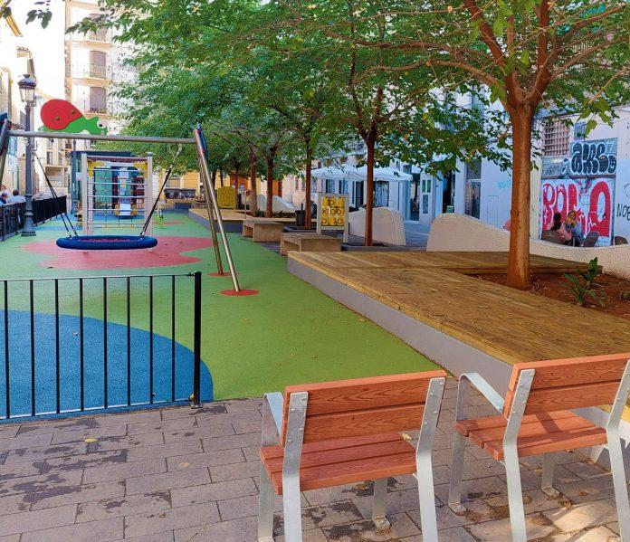 Valencia inaugura un nuevo parque infantil