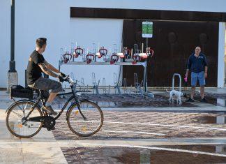 Valencia estrena tres aparcamientos de bicicletas gratuitos