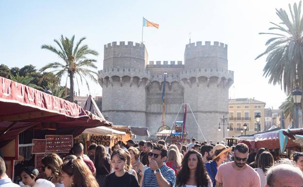 mercado medieval del 9 d'Octubre