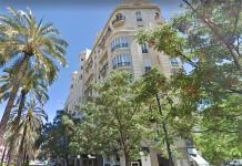 Un ascensor se descuelga en Valencia con tres ocupantes en el interior