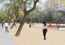 El nuevo jardín urbano del centro de Valencia abrirá en un mes