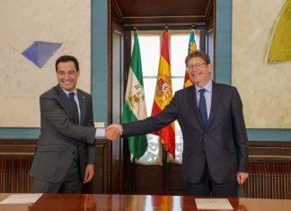 La Comunitat Valenciana y Andalucía unen fuerzas para acabar con la infrafinanciación