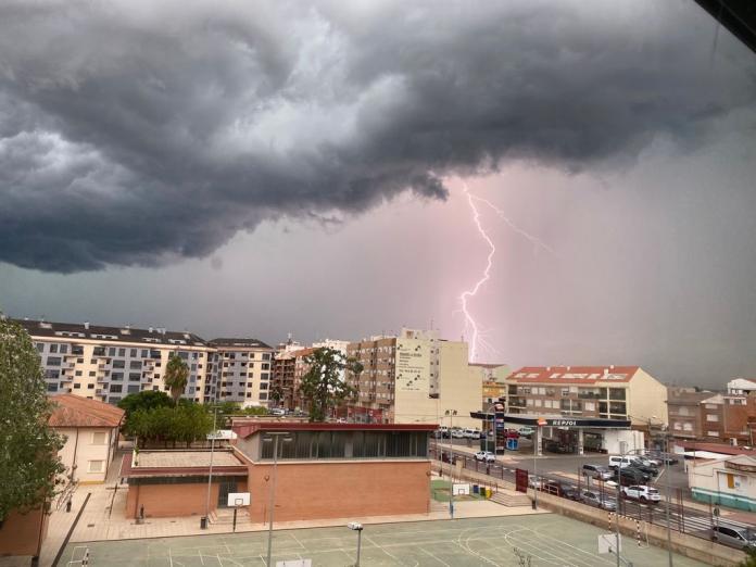 La DANA pone en alerta a la Comunitat Valenciana por fuertes tormentas
