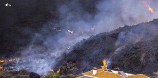 La nube de azufre del volcán de La Palma llegará a Valencia