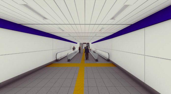 Así será el próximo túnel peatonal que unirá las estaciones de metro Alacant y Xátiva