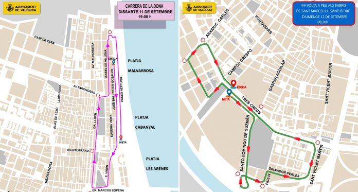 La ciudad de Valencia se cierra al tráfico el fin de semana