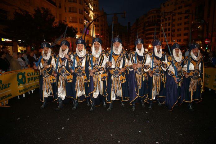 Moros y Cristianos Valencia