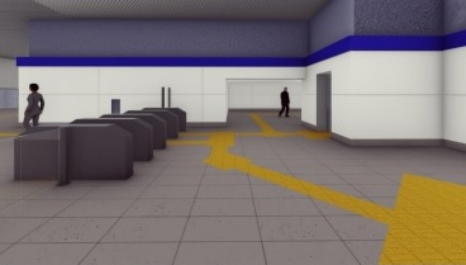 acceso túnel metrovalencia