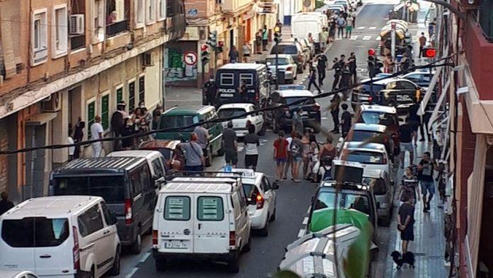 Sigue la ola de peleas en el barrio de Oriols. / Fuente: Orriols en Lucha
