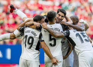 victoria del Valencia CF ante el Osasuna