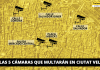 Activan las cinco cámaras de tráfico que multarán en Ciutat Vella