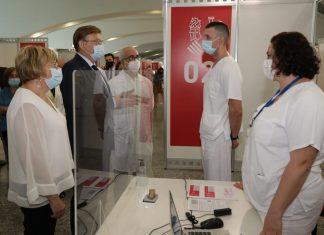 Los equipos de vacunación contra la Covid recibirán la Alta Distinción de la Generalitat