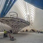 CaixaForum València transforma el interior del Ágora en un paisaje único