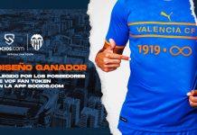 los aficionados Camiseta Valencia cf